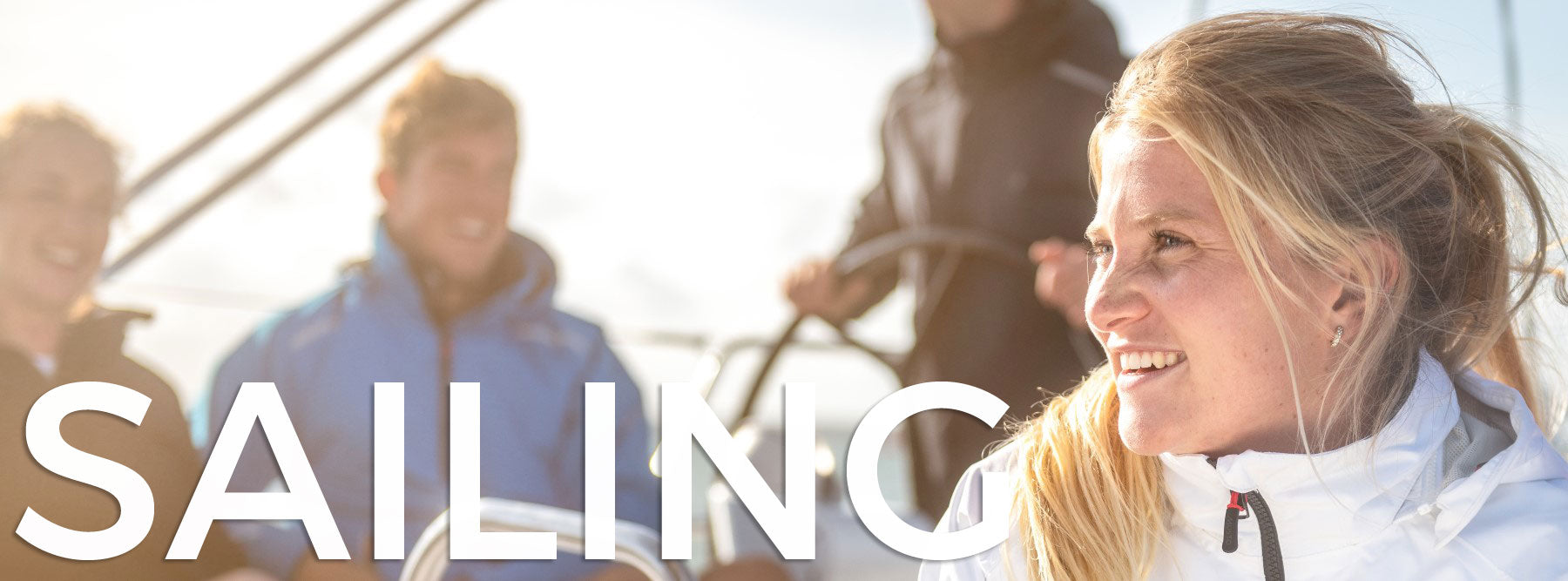 Sailing - Leisure wear for casual weekenders and serious yachtsmen