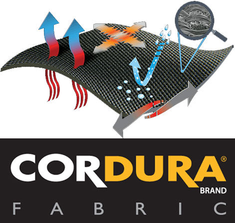 cordura fabric boot panel