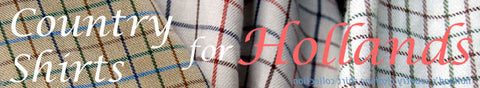 Country check shirts for hollands country clothing various checks