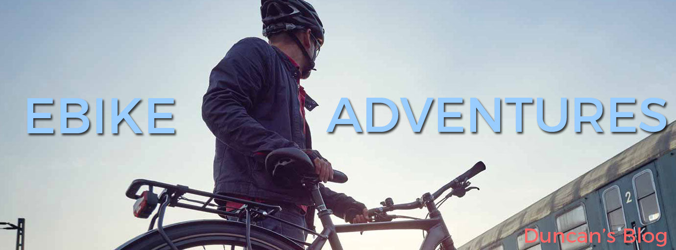 Ebike adventures with Duncan and his gudereit Ebike