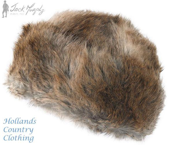 l\dy faux fur hat