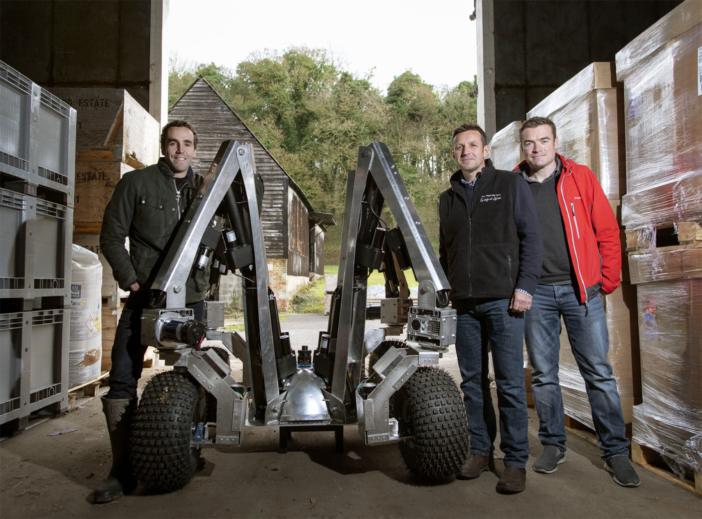 Sam Watson Jones, co-founder of Small Robot Company and fourth generation Shropshire farmer