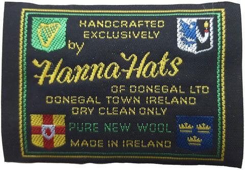 Hannah hats finest hand made irish tweed