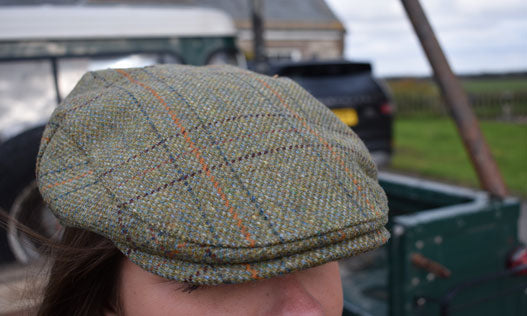 heather kinlock cap tweed