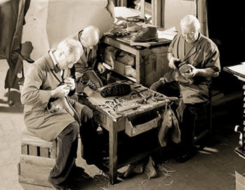 Boot makers in Italy