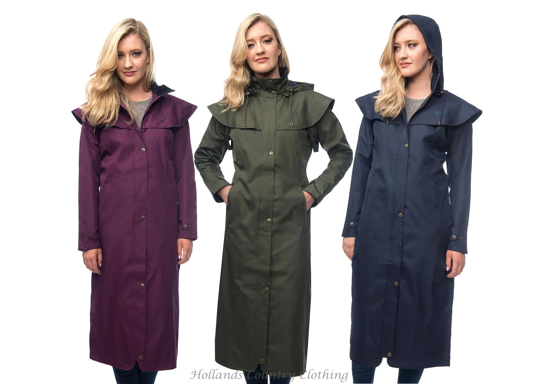 8a5aeb4cb A Collection of Ladies' Long and Three Quarter Length Coats selected by  Holland's Country Clothing