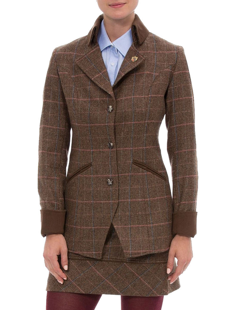 Ladies Quality Tweed Jackets and Coats. Pure Wool, Warm and natural