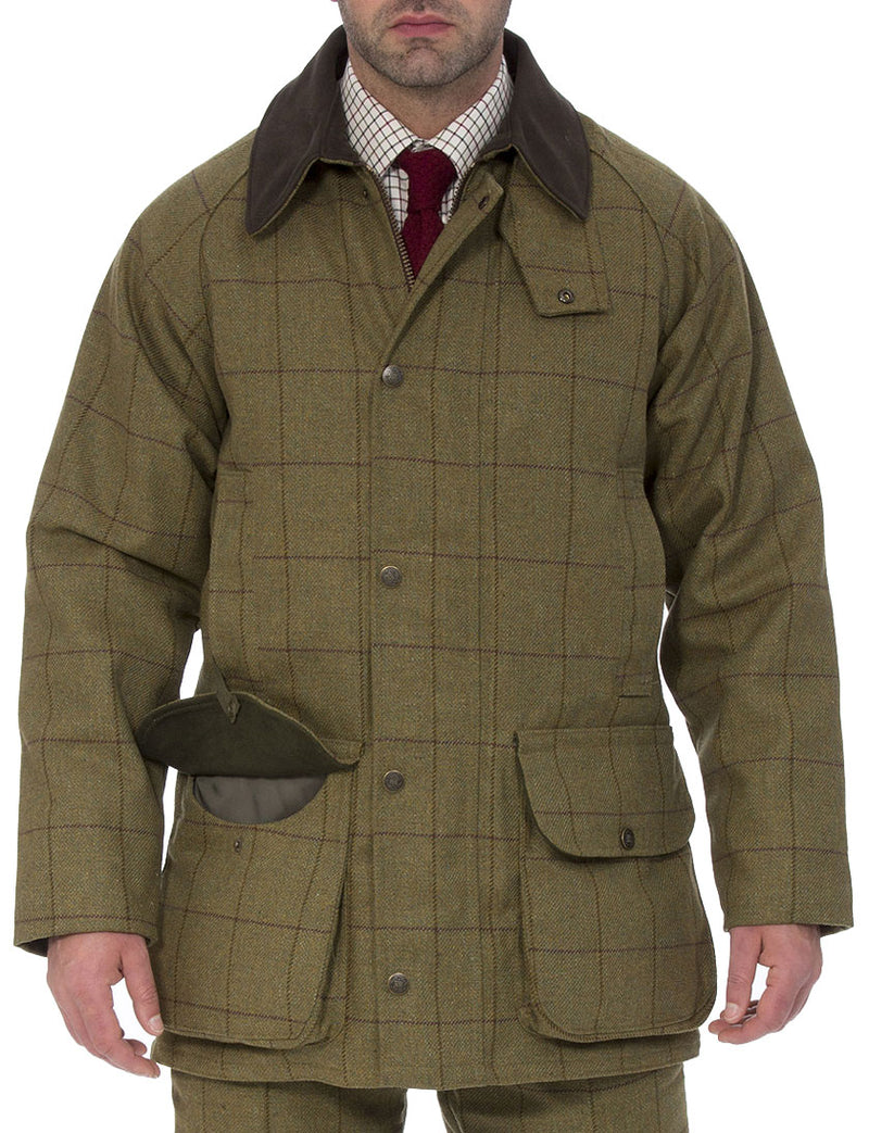Men's Tweed Jackets and Coats - Practical, Technical, Waterproof, Warm