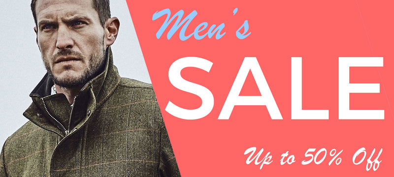 Men's winter Sale At Holland's Country Clothing