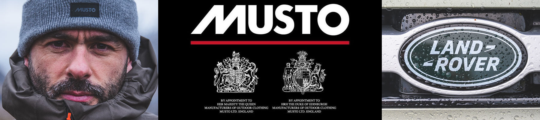 Musto Land Rover - THE ABOVE AND BEYOND COLLECTION