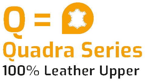 Quadra 100% Leather uppers