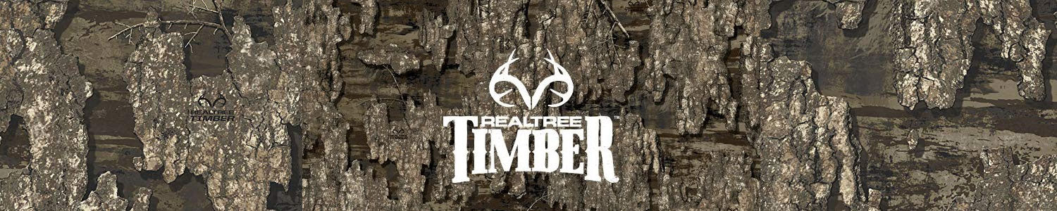 Realtree Timber - Highly Realistic Woodland Bark for Wildfowl hunters