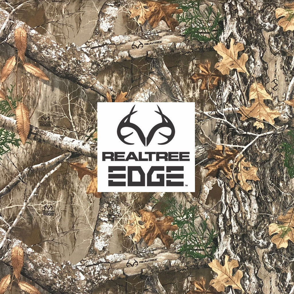 Realtree Edge Camouflage Realistic leaf and wood Camo