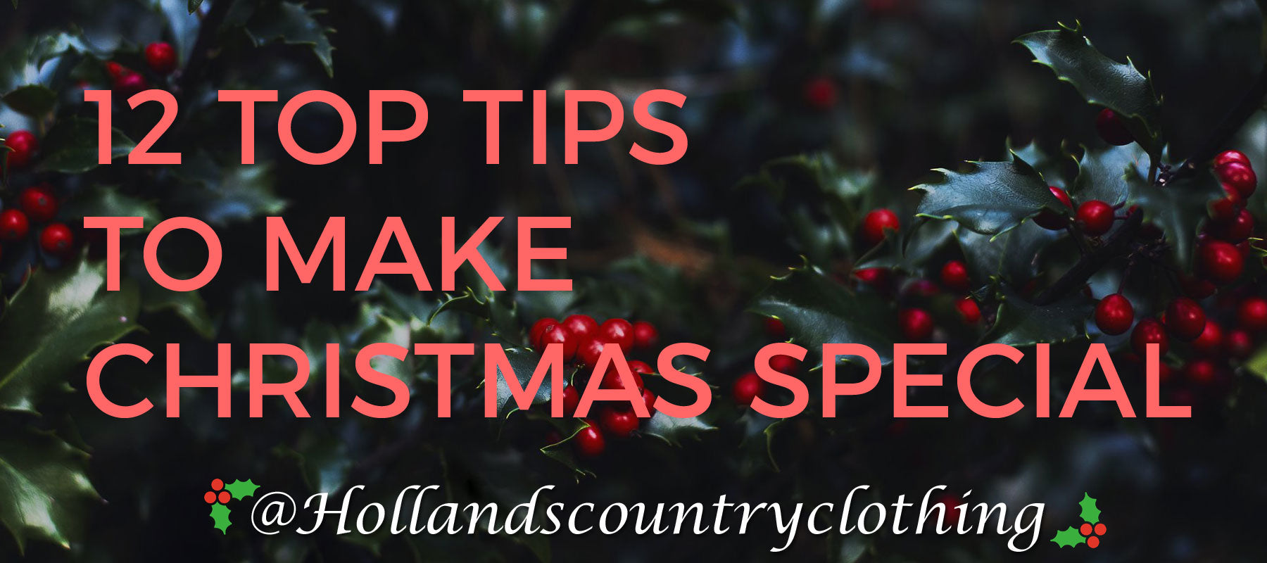 12 tips to make your Christmas special
