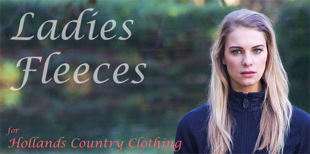 ladies fleeces in all colours and styles at holland's country clothing