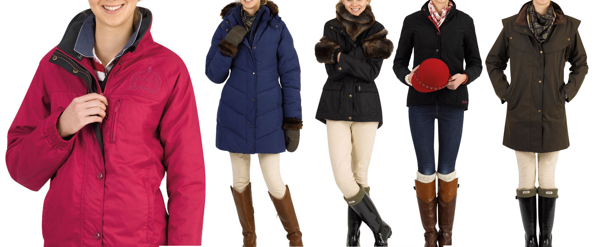 ladies Country Jackets and Waterproof coats for Holland's