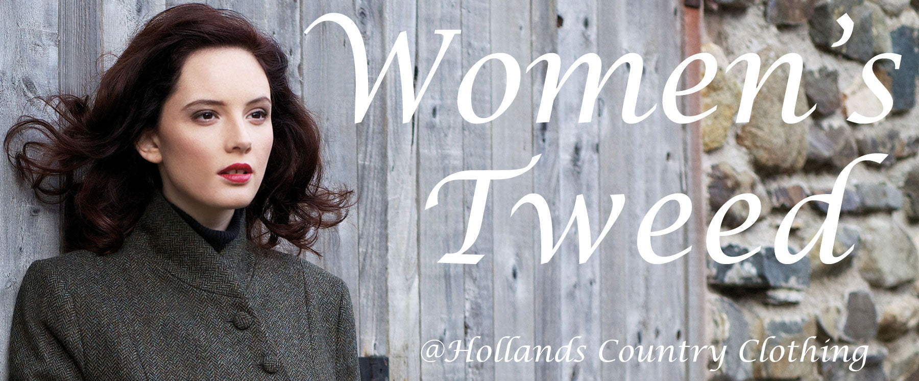 classic country tweed for women at hollands country clothing