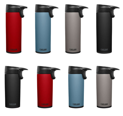 CamelBak Forge SST Vacuum Insulated Bottle | Stone, Black, Blue, Cardinal Red