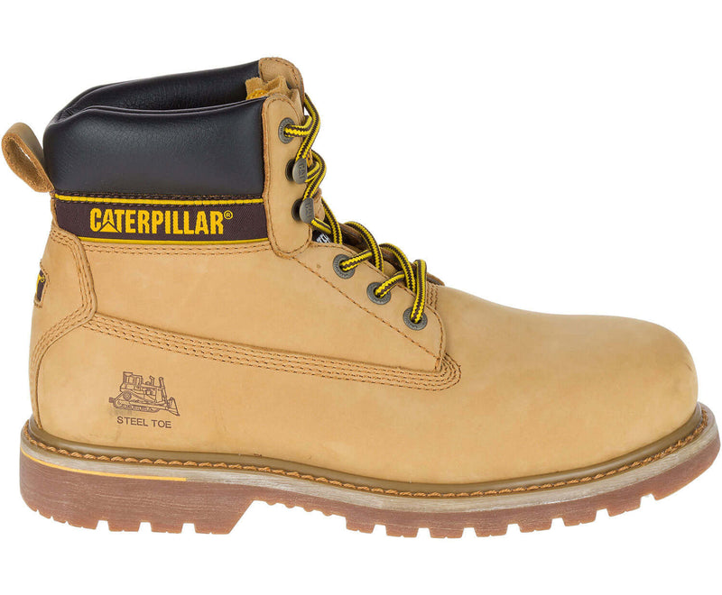 Caterpillar Holton Leather Safety Boot