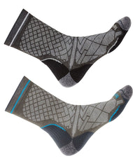 Bridgedale Hike Ultra Light T2 Boot Sock | Black, Grey
