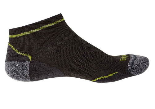 Bridgedale Hike Ultra Light T2 Low Sock | Graphite / Lime