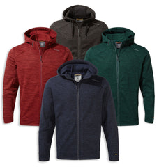 Craghoppers Strata Hoodie | Blue Navy, Firth Red, Woodland Green, Black