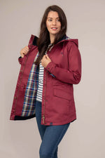 Berry Kendal Rain Coat by Lighthouse