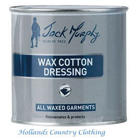 wax cotton dressing from Jack Murphy is the perfect solution for re-proofing and extending the life of your Jack Murphy wax garments