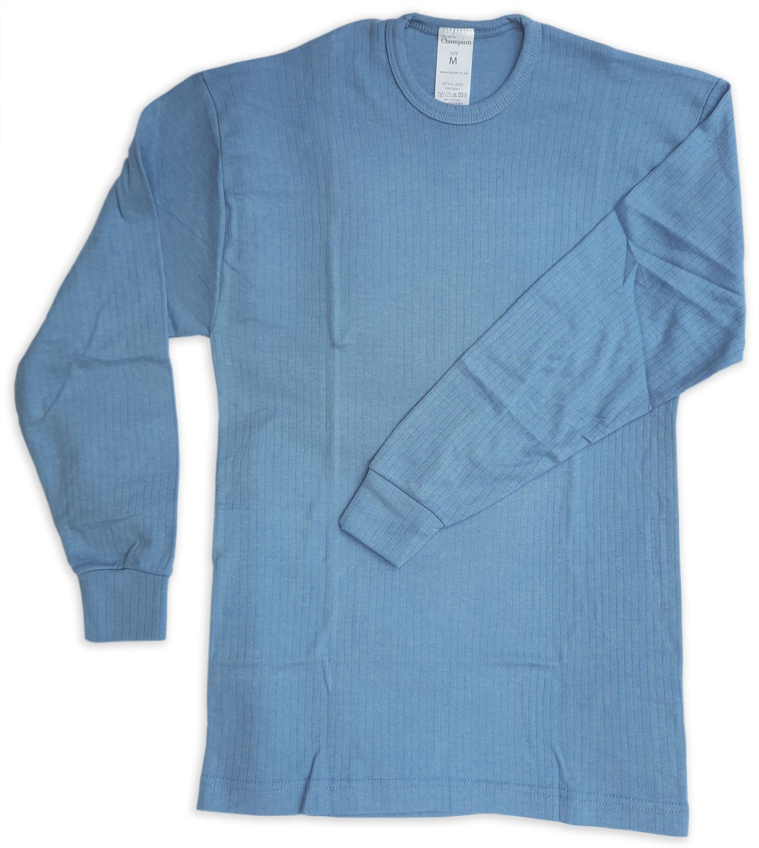Blue Champion Long Sleeved Thermal Vest