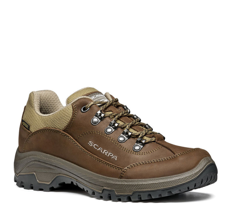 Scarpa Womens Cyrus GTX Shoe brown leather