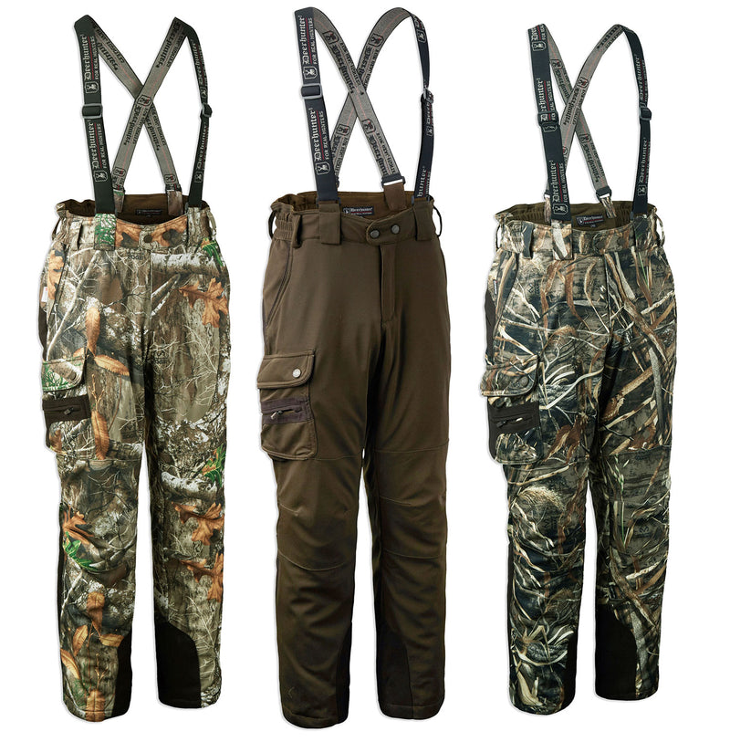 Deerhunter Muflon Trousers | Art Green, Realtree Max 5, Realtree Edge Camouflage