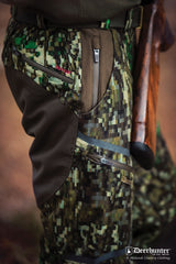 index pixel camouflage Cumberland IN-EQ Camo Trousers by Deerhunter