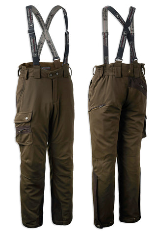 Deerhunter Muflon Waterproof Trousers | Art Green