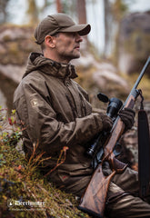 Shooting with Deerhunter Upland Jacket | Canteen Green