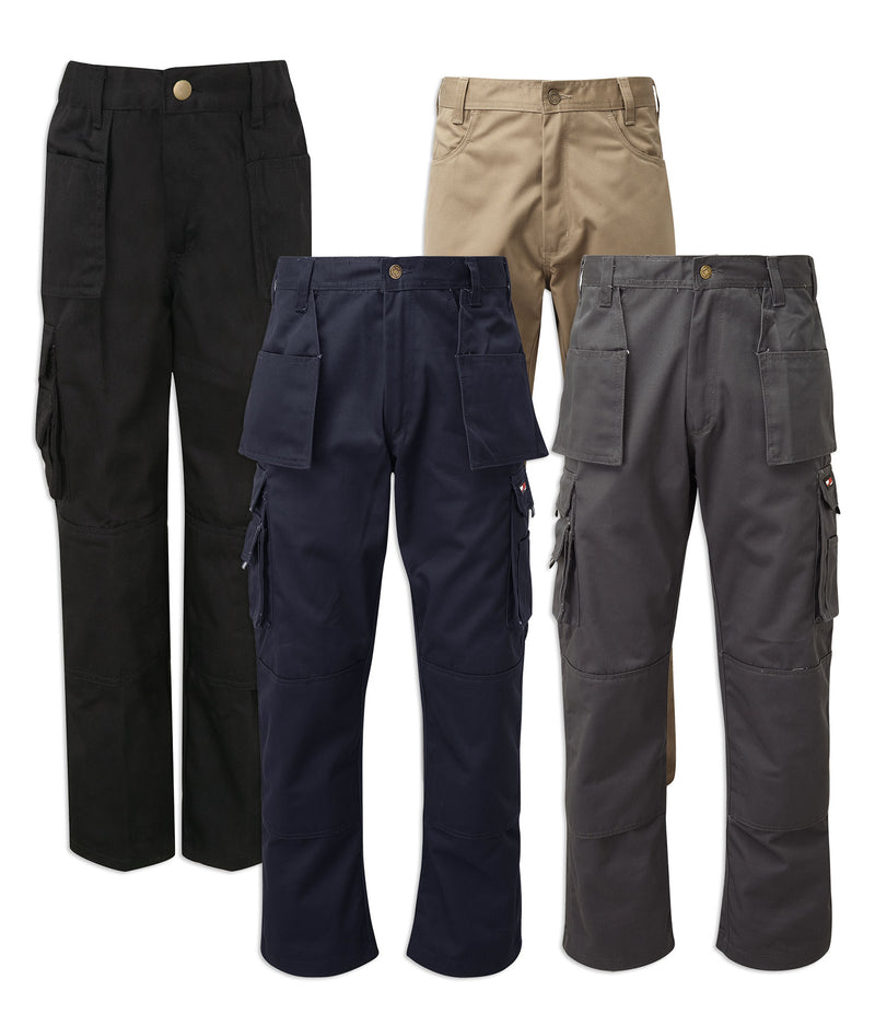 Castle Tuffstuff Pro Work Trousers | Black, Grey, Stone, Navy