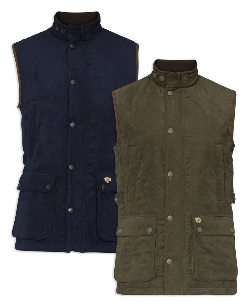 Alan Paine Felwell Quilted Waistcoat