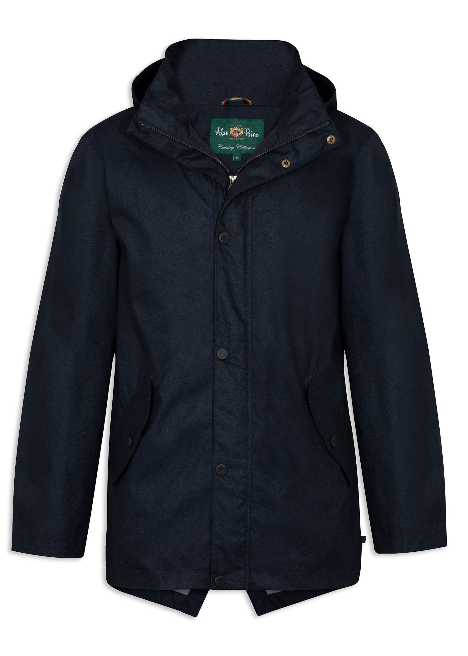 Navy BLue Alan Paine Fernley Waterproof Parka