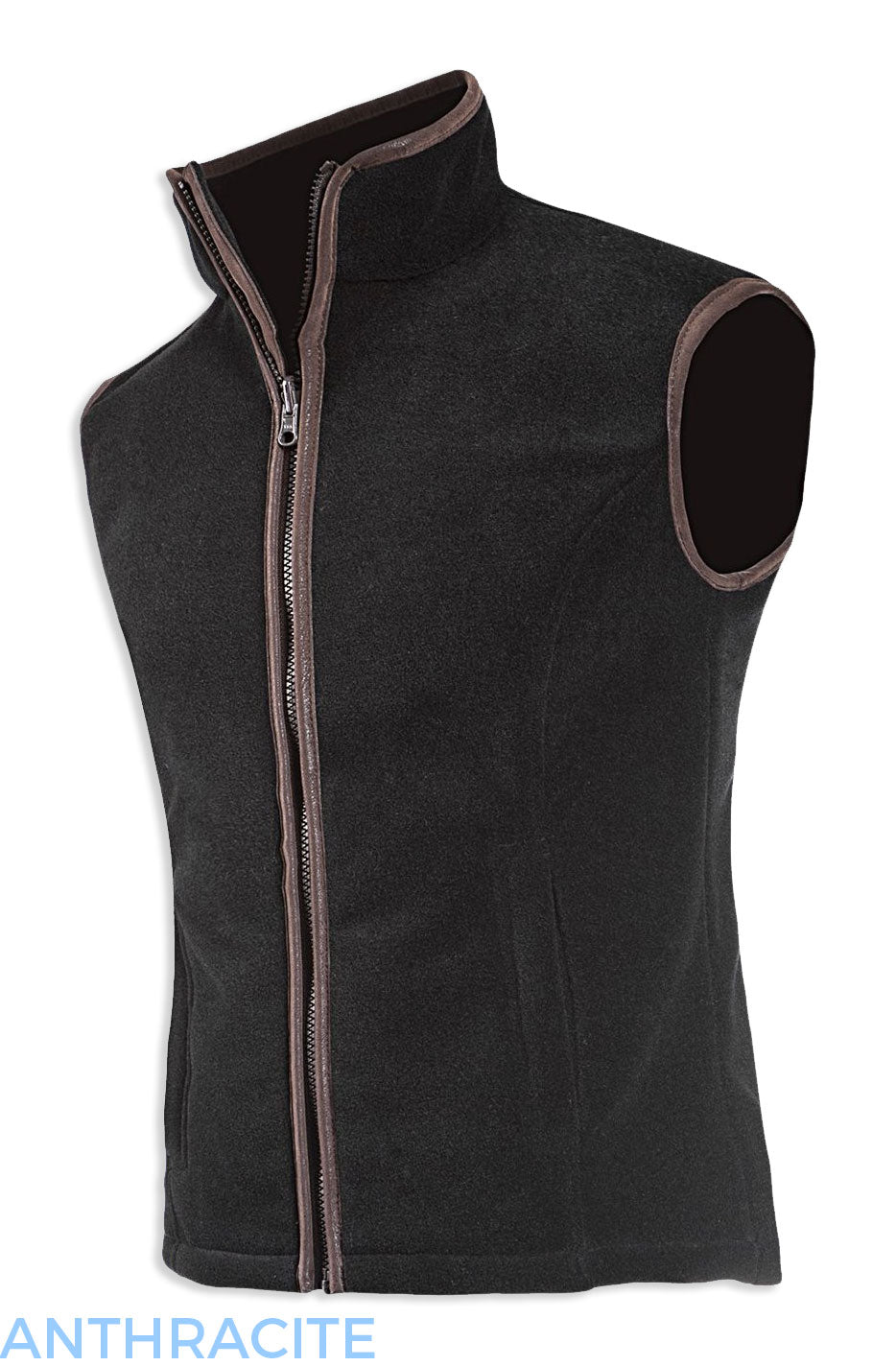 Baleno Sally Ladies Fleece Gilet colour Anthracite