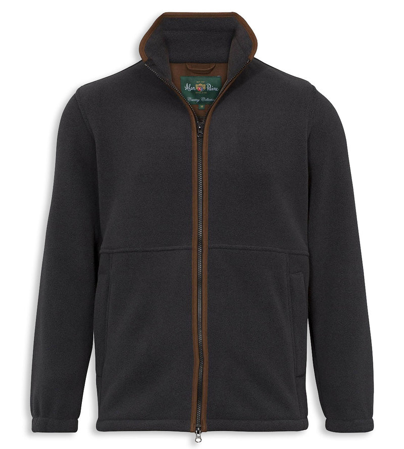 Alan Paine Aylsham Fleece Jacket | Charcoal