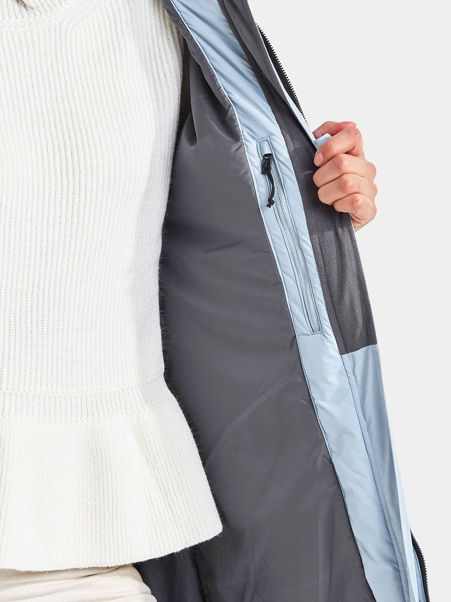 Padded lining with internal pocket