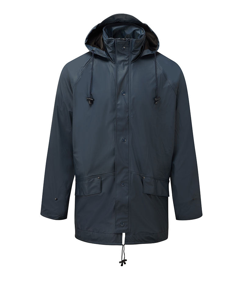 Aiflex breathable waterproof jacket in navy