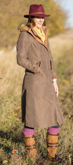 Alan Paine Berwick Long Waterproof Coat - Hollands Country Clothing