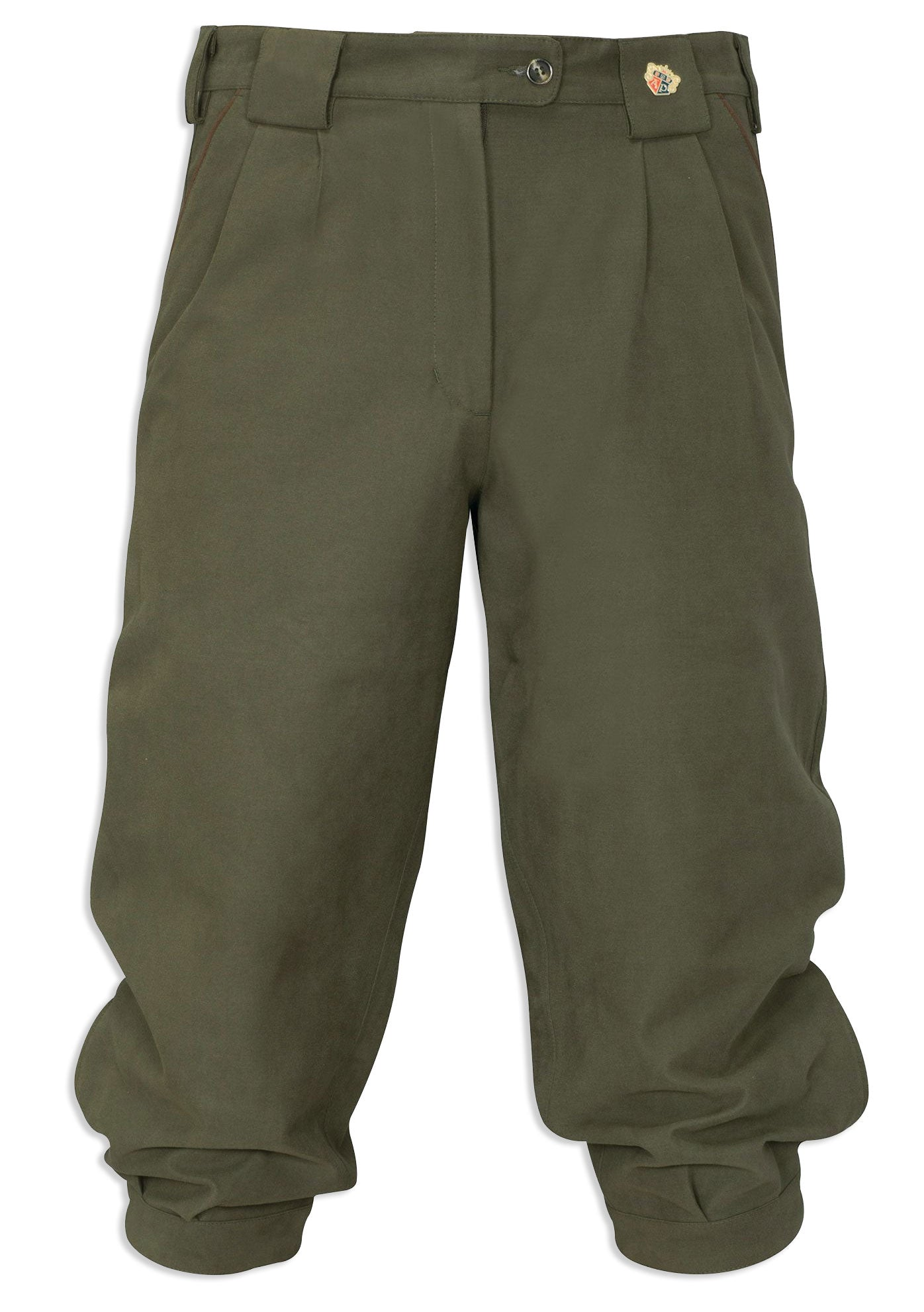Berwick Ladies Waterproof Breeks in olive green