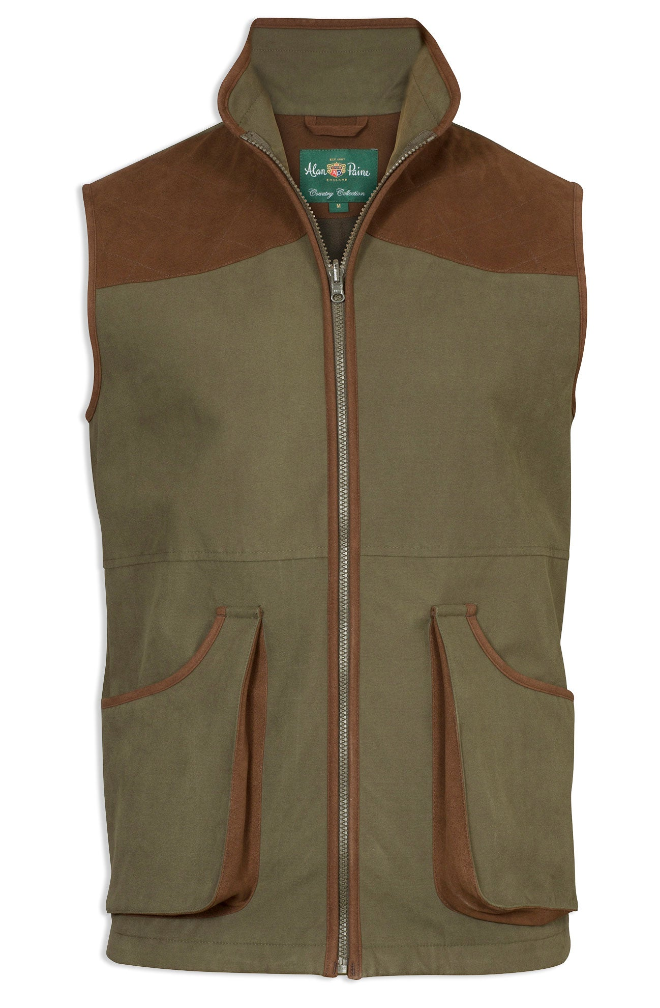 Berwick Men's Waterproof Waistcoat by Alan Paine