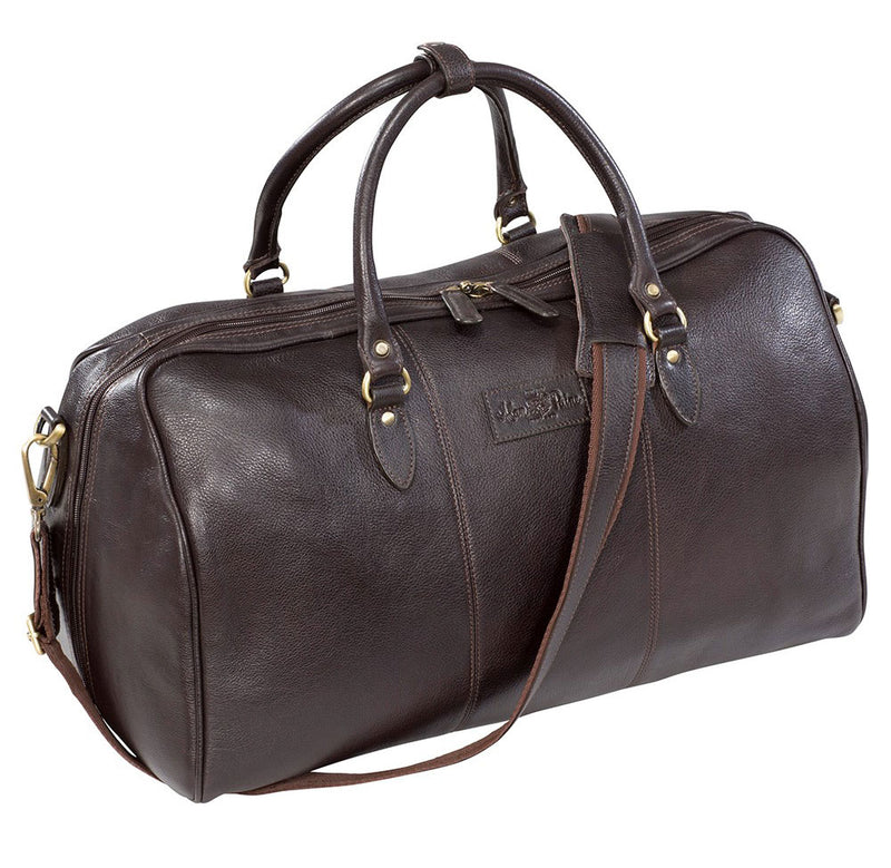 Alan Paine Leather Travel Bag