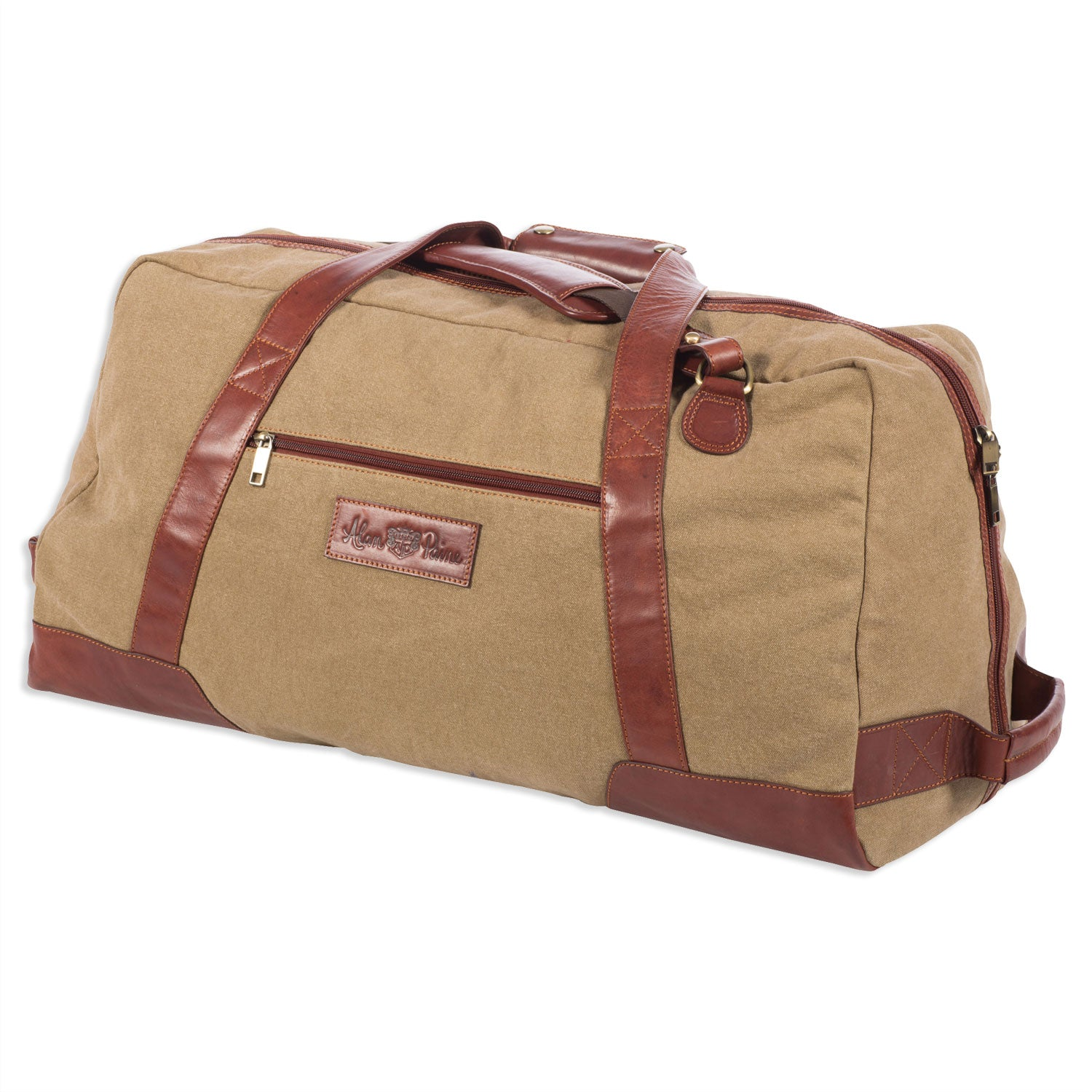 Alan Paine Canvas Travel Bag | Sand