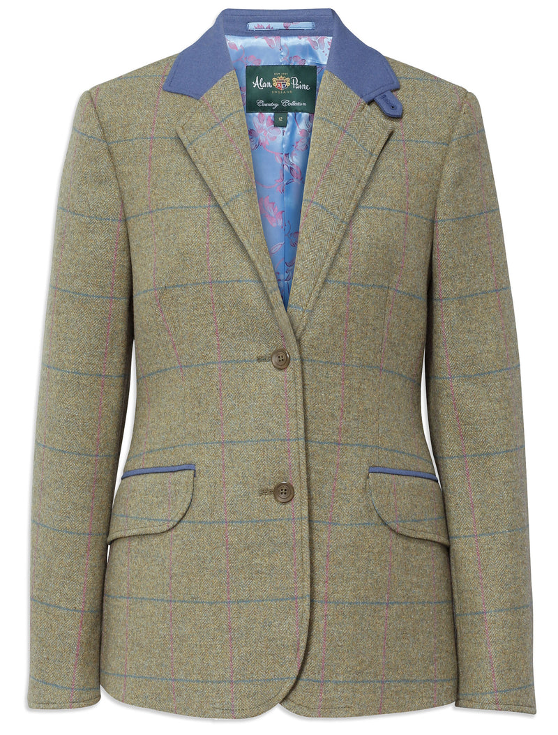 Alan Paine Combrook II Tweed Blazer | Juniper