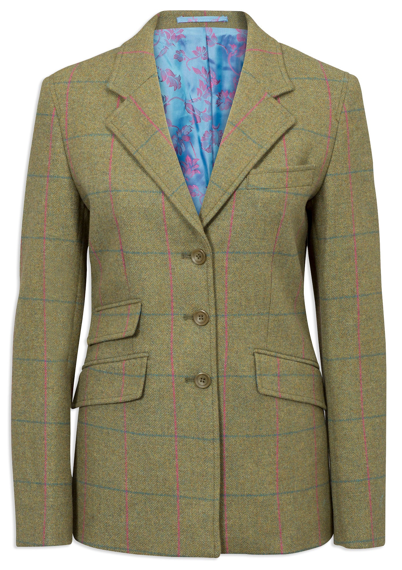 Alan Paine Combrook Tweed Blazer | Juniper