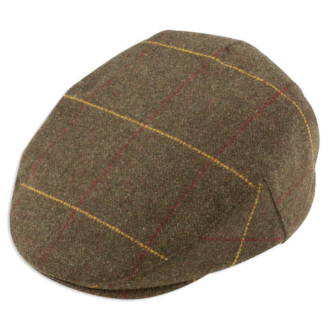 Combrook Alan Paine Men's Tweed Flat Cap