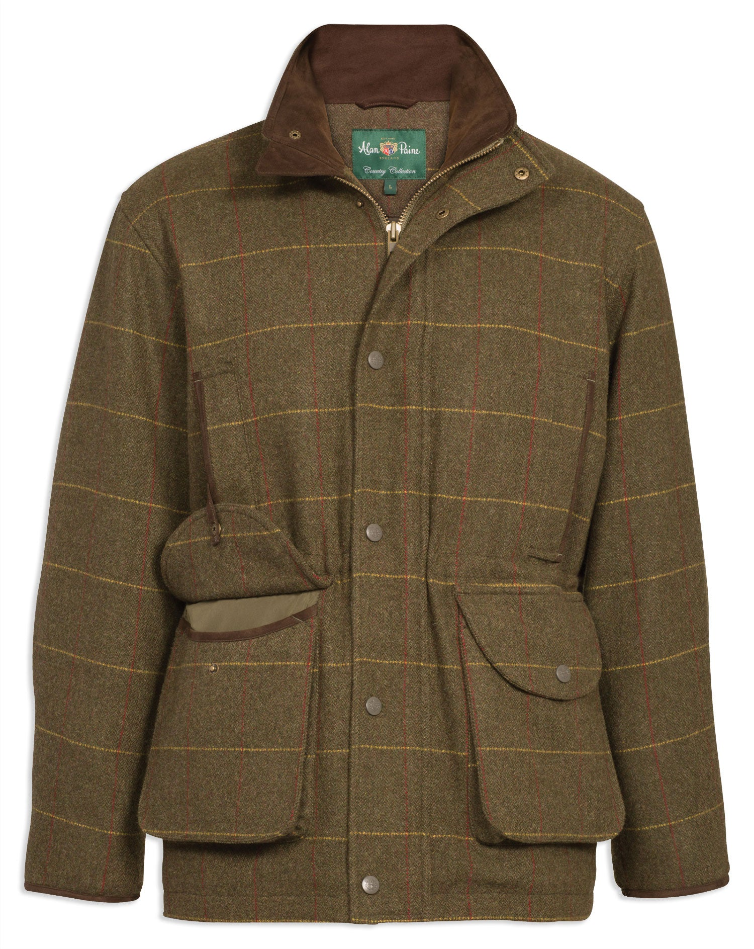 Combrook Men's Tweed Shooting Coat by Alan Paine